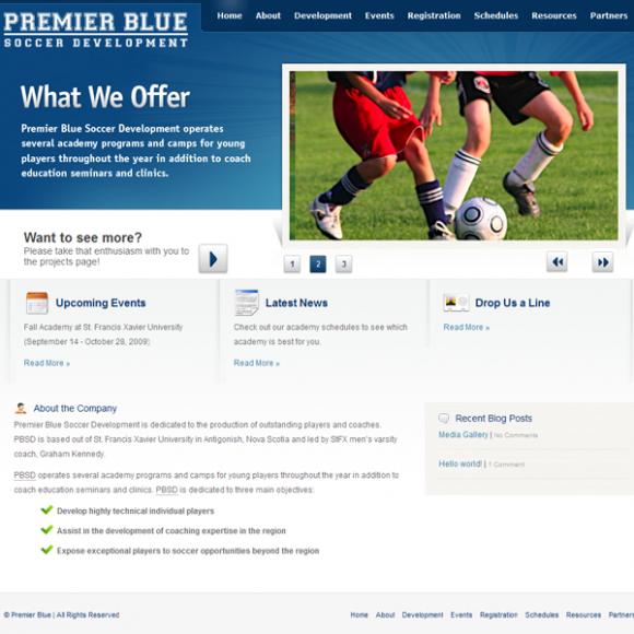 premier blue soccer academy